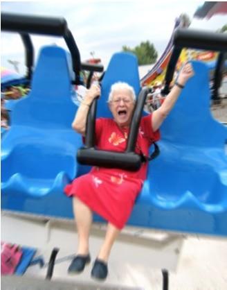 Grandma at state fair