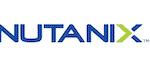 Nutanix logo for hybrid cloud storage.