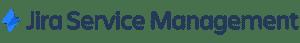 JIRA service management logo.